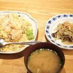 希須林 - ☆炒飯セット 1080円