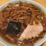 竹の家 - 大盛メンマラーメン