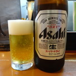 俺の夢 - 瓶ビール(550円)