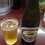 レストラン ポパイ - 瓶ビール 550円