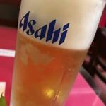 中華料理 愛福楼 - 生ビール