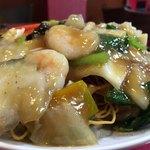 中華料理 愛福楼 - 五目かた焼きソバ