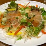 なごみ - 晩酌セットのサラダ