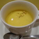 カタルーニャ厨房 カサマイヤ - つる首かぼちゃのスープ