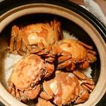 74786659 - 上海蟹の炊き込みご飯