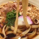驛釜きしめん - ☆★恒例☆麺AGE♫★☆