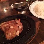 メルヘン - ガーリックチキン定食  1500円