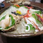 北の味紀行と地酒 北海道 - 北海道産の真つぶ貝