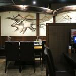 北の味紀行と地酒 北海道 - 廊下の左側