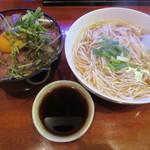 山笠うどん - 料理写真:【ステーキ丼(450g・細麺セット) 1130円】