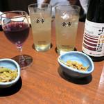 北の味紀行と地酒 北海道 - その前に乾盃〜♬