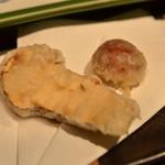 柳家 - 松茸の天ぷら