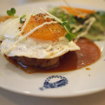フレイムハウス - 煮込みハンバーグ定食