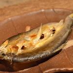 柳家 - 稚鮎の干物