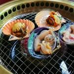 萩の茶屋 - 長太郎・大アサリ