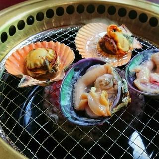 萩の茶屋 - 料理写真:長太郎・大アサリ