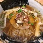 鮮魚麺 海里 - 鮮魚醤油ラーメン¥700