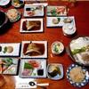 Tanakasou - 料理写真:夕食(はじめに並んでいた料理)