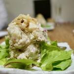 日本のお酒と馬肉料理 うまえびす - 燻製ポテトサラダ