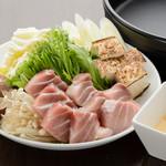 Hotomeki - 高価かつ希少部位!天然生マグロのトロのすき焼き
