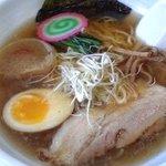 眞麺 穂高 - 限定鶏スープラーメン