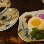 珈琲店 北地蔵 - チーズケーキ(2008.8画像追加)