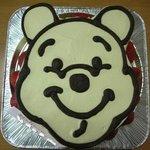 ジュジュ - ぷーさんケーキ