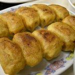 7480861 - 「焼(餃子10個)野菜スープセット」の焼餃子