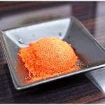元祖カレータンタン麺 征虎 - ナナの変態分の唐辛子。切れ味バツグンです。