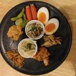 福島壱麺 - おつまみ盛り合わせ
