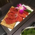 74803083 - 上焼肉ランチセット2700円のお肉