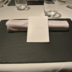 リストランテ カノフィーロ - 2017年10月14日のテーブルセット