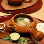 いち太 - 信州松茸と鱧土瓶蒸し