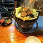 成吉思汗 大黒屋 - お肉を焼きます