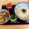 和い寿うどん - 料理写真:4種のきのこ入り肉汁うどん 並