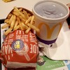 マクドナルド - 料理写真:月食バーガーセット