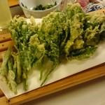 元気くにまつ - 料理写真:あしたばの天ぷら