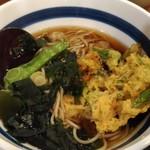 信州屋 - かき揚げ蕎麦