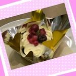 スティックスイーツファクトリー - チーズケーキとベリーのトライフル(¥280+税)新商品