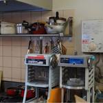 彩茶 - かき氷機は、2種類あります。 右の機械が前に六花さんで使用されていた機械です。