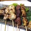 Honoka - 料理写真:1710_Honoka-穂の香-_YAKITORI MORI@60,000Rp(焼鳥盛合せ5本)