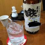 Honoka - 1710_Honoka-穂の香-_焼酎はロックでいただきます
