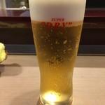 あばらや - 生ビール