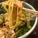 麺や 庄の - もっちり極太麺