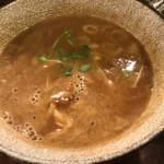 麺や 庄の - 濃い目の豚魚