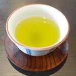 アーユルヴェーダ・カフェ ディデアン - 和食(1080円)のお煎茶