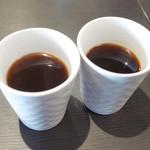 アーユルヴェーダ・カフェ ディデアン - モーニングコーヒーはアメリカンとブレンドの2種類