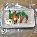 おさかな旭 - 料理写真:ふなずし(おためしサイズ