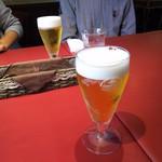 ベルドゥーラ - プラス100円でグラスビールに変更!