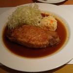 SATSUKI - ポークソテーのガーリック醬油風味です。